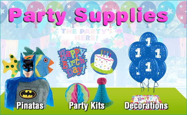 Welcome to Party Supplies for Less!